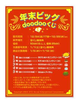 2011リヴリーアイランドddくじ景品『賞金+各種モチハム』
