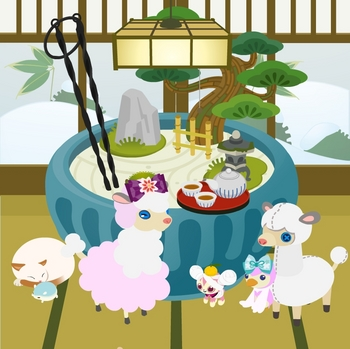 今週のヤミショップ「頭上の柚子」「雪見障子」「コタツ猫」「和風照明A」「ほうじ茶セット」