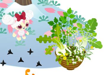 春の七草鉢