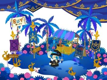 Livly Island 9周年記念イベント中 今年はなぜか三銃士